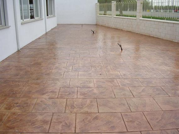 cemento impreso Lalin