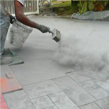 ¿Cómo se hace el pavimento estampado?