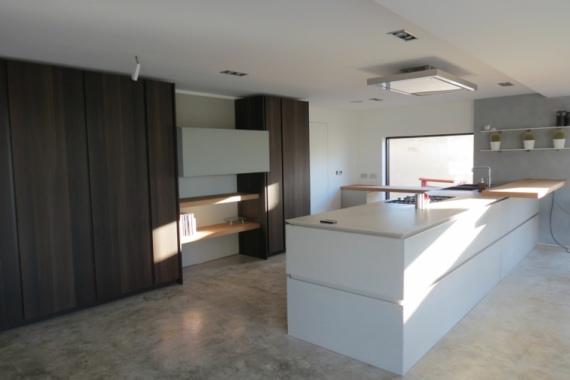 Precios m2 suelo microcemento en cocinas