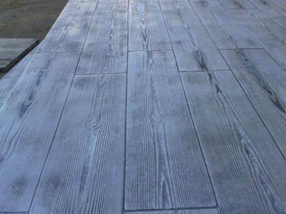 terrazza hormigon imitacion madera