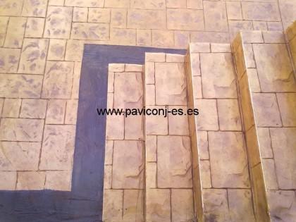 pavimentos impreso piedra silleria