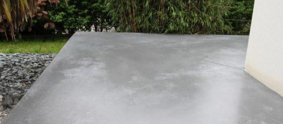 microcemento suelo exterior