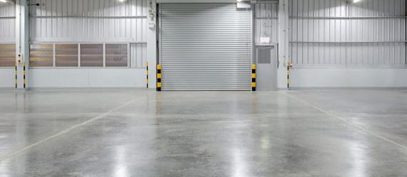 hormigon pulido en garaje