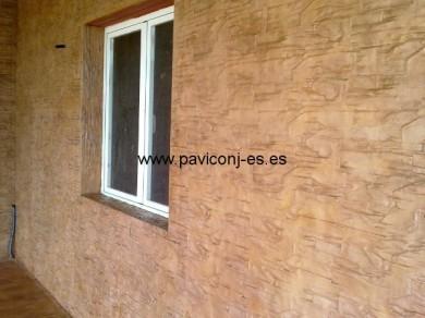 fachadas de hormigón impreso vertical