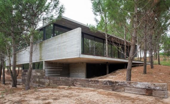 casa en Hormigón visto