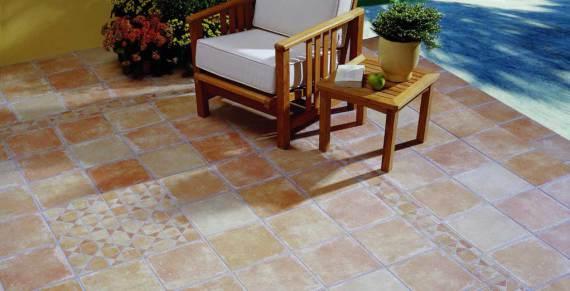 suelo para exterior en Gres porcelánico