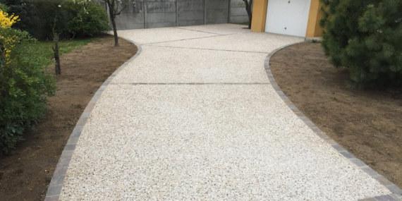 ¿Qué es el pavimento exterior de hormigón?