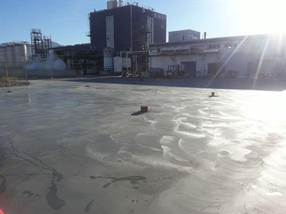pavimento exterior de hormigón fratasado