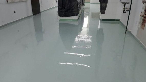 Pavimento epoxi Autonivelante
