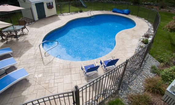 pavimento para piscina