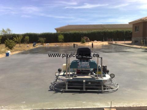 Paviconj - Como hacer hormigón semipulido